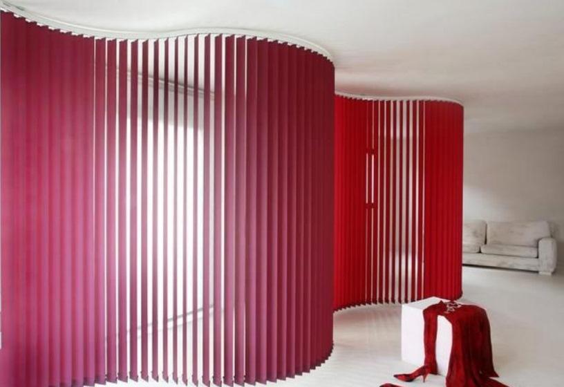 Вертикальные жалюзи в дизайне интерьера,2