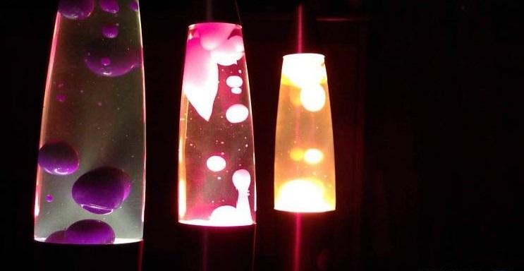 Большие стационарные лава лампы