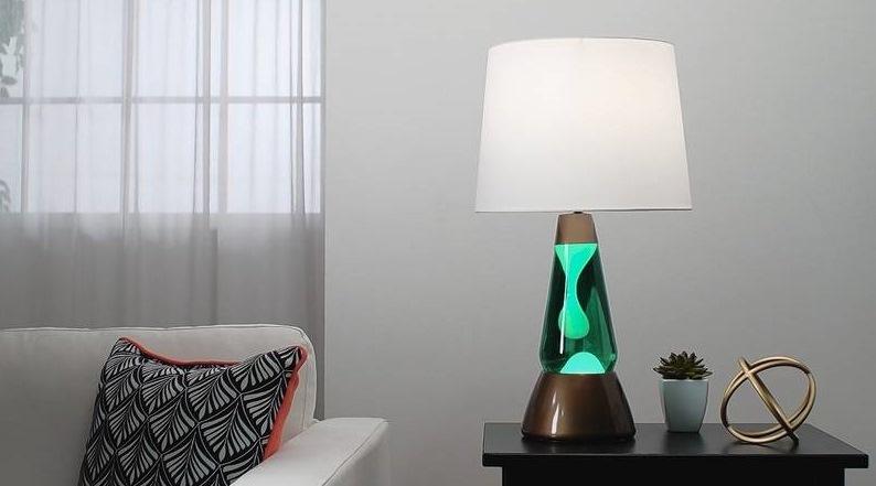 Переносные настольные лава-лампы