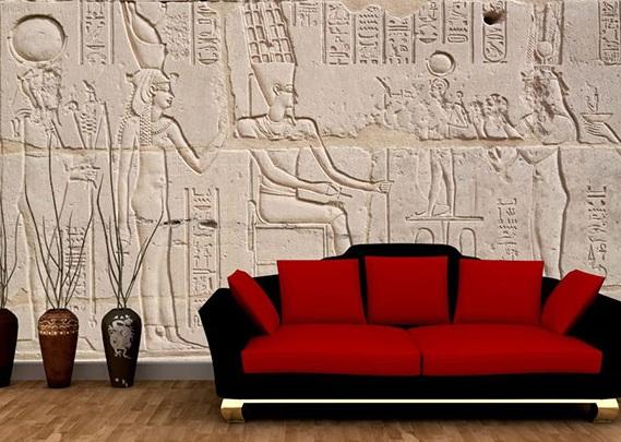 3д обои египет