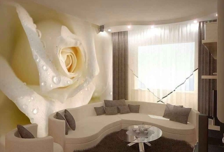 3д обои цветок роза