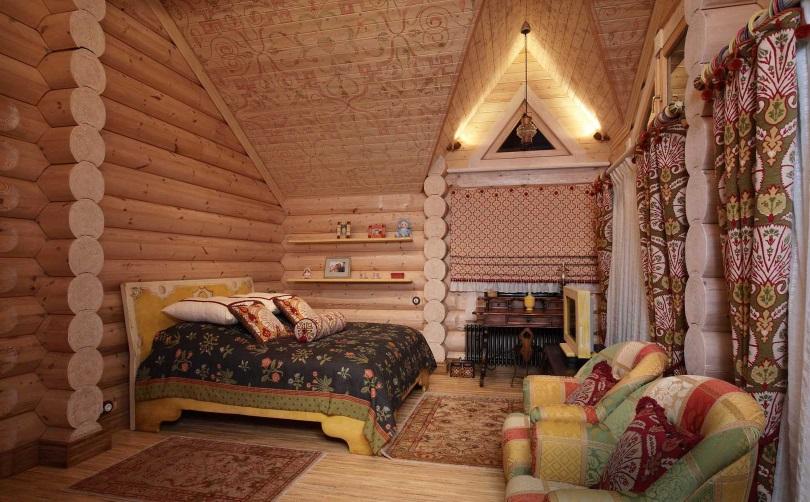 Русский стиль в спальне