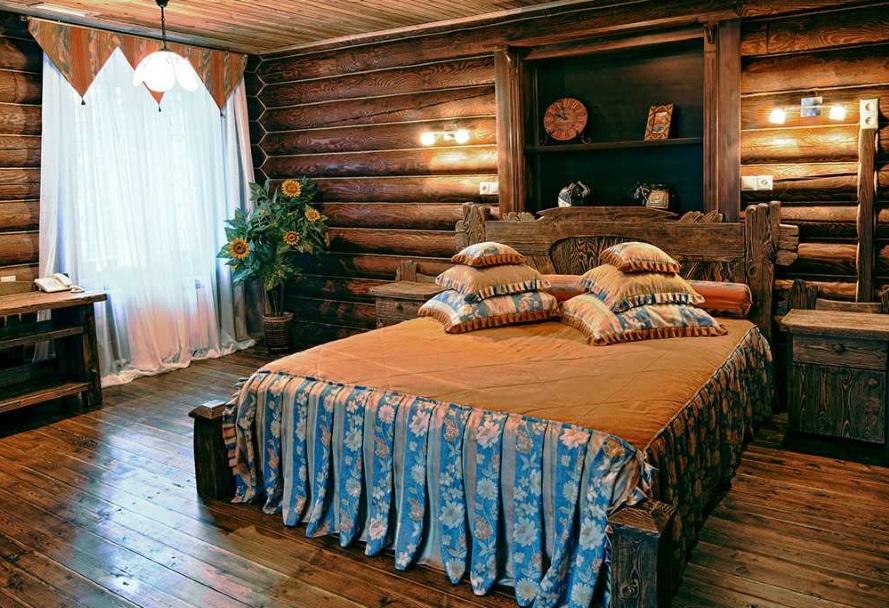Русский стиль в спальне 2