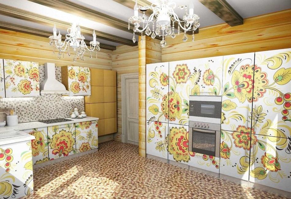 Русский стиль кухня