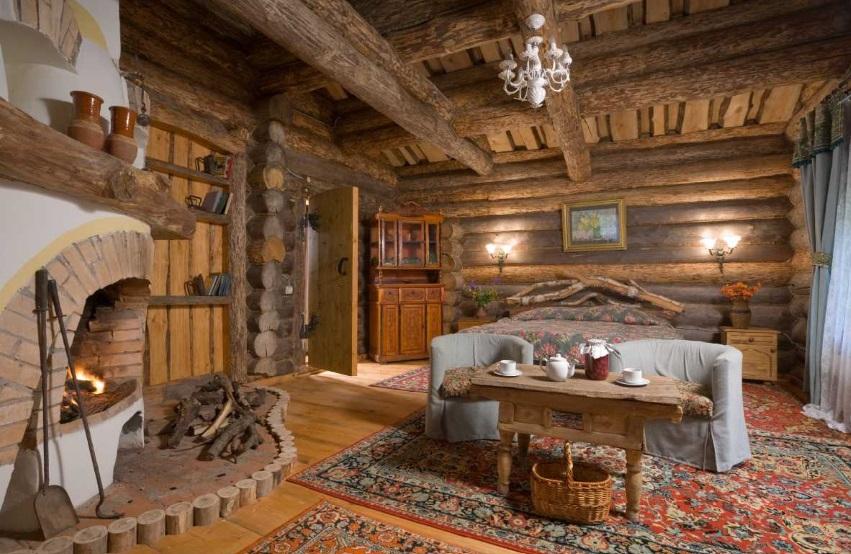 Русский стиль зал