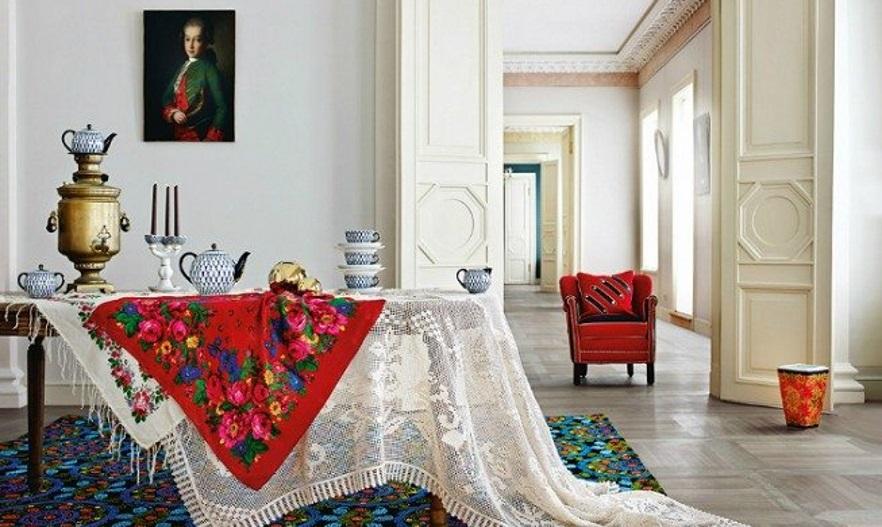 Русский дворянский стиль в интерьере