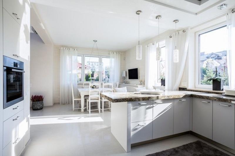 Объединение кухни и гостиной в одно помещение
