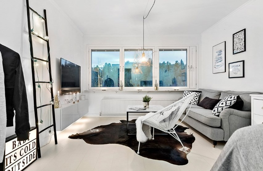Скандинавская простота интерьера