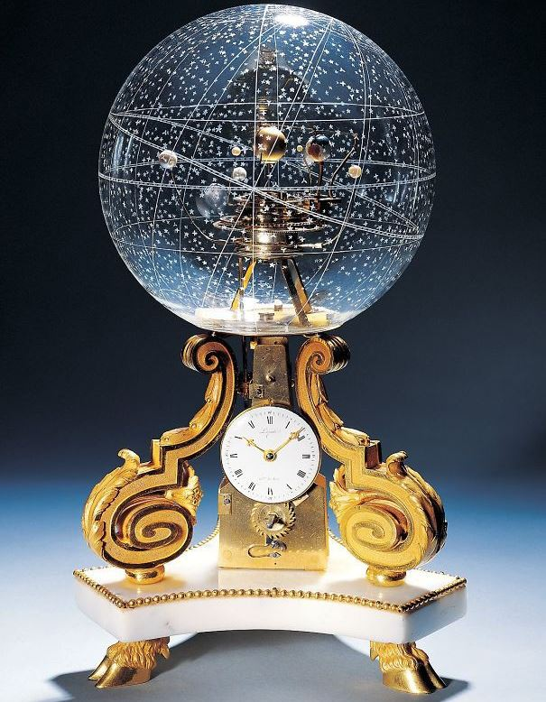 часы-планетарий фото