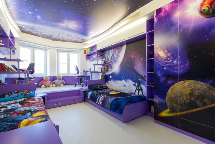 красивая детская космос фото
