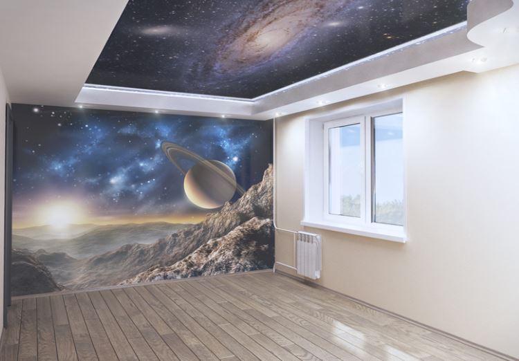 стена космос фото