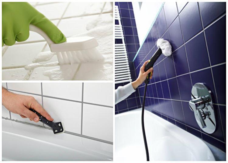 Как убрать плесень в ванной комнате